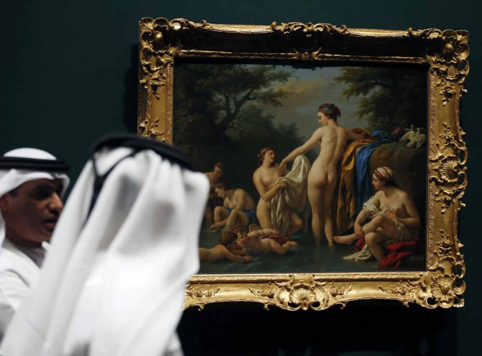 The new Louvre, which is under construction, will bring Western and oriental art to the super-rich desert state