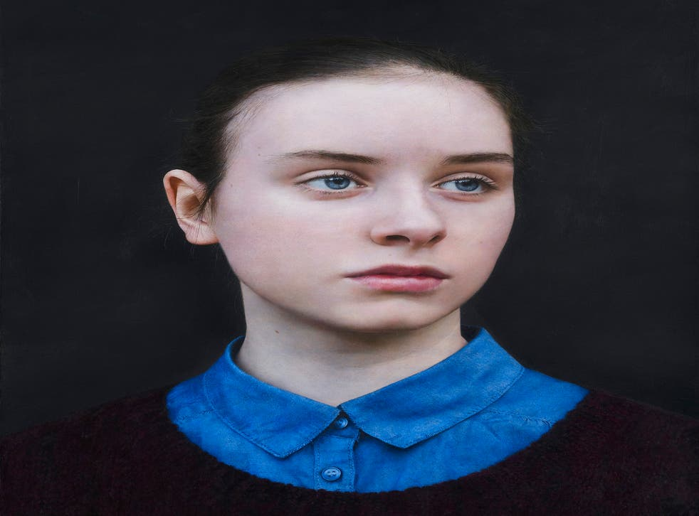 'Eliza' by Michael Gaskell, one of three works in the running for the BP Portrait Award