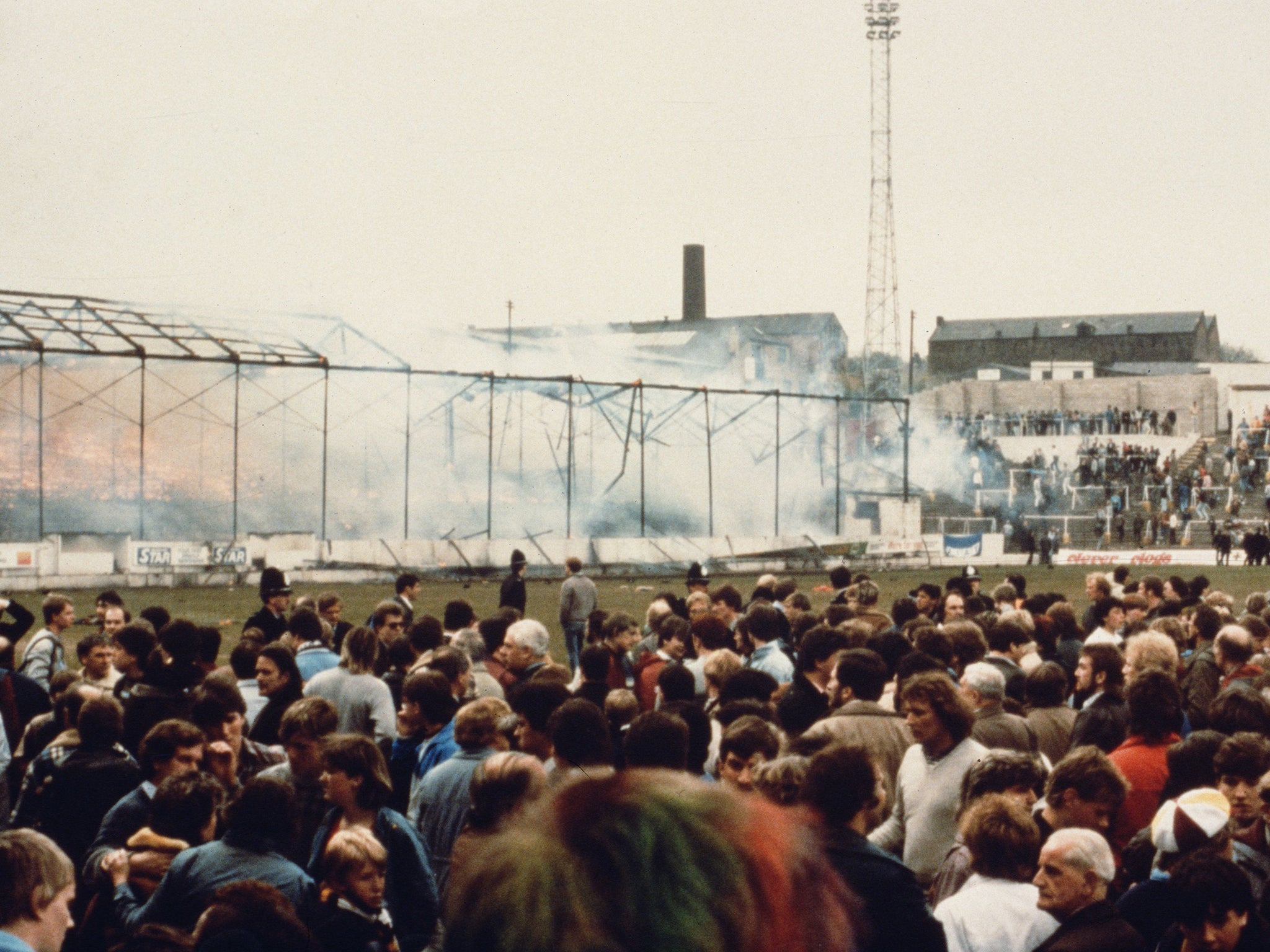 Bradford City stadium fire: 'Police were to blame' for ...