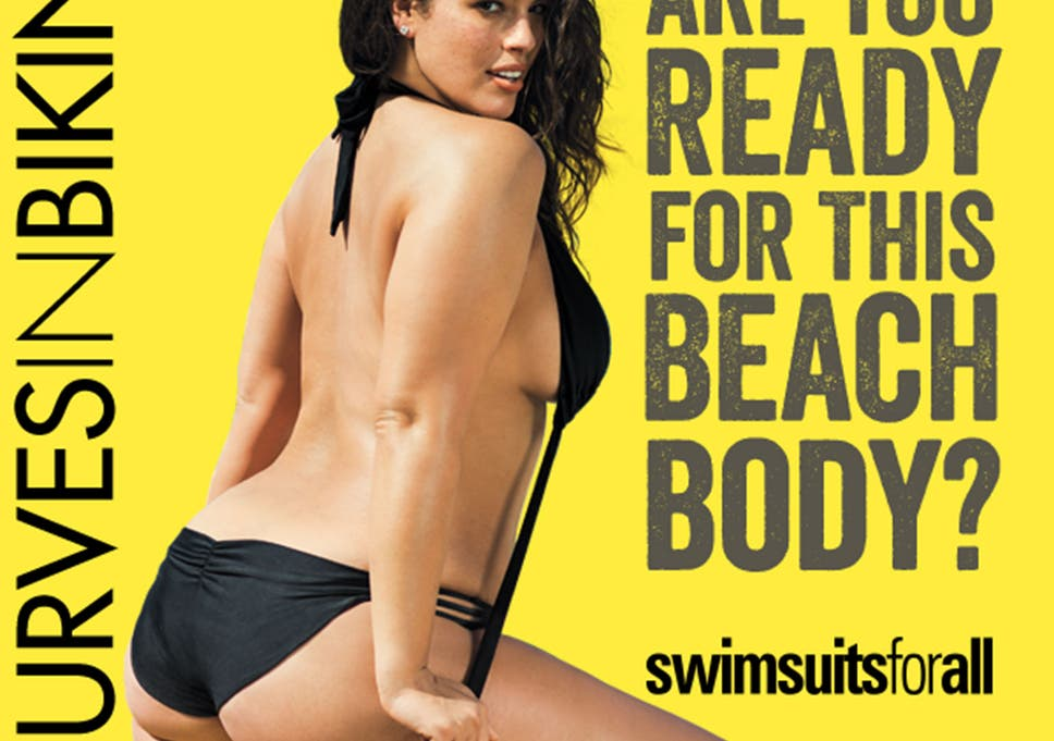 939ee3fc66 Protein World advert: Swimwear retailer strikes back at 'beach body ready'  campaign with plus size model Ashley Graham