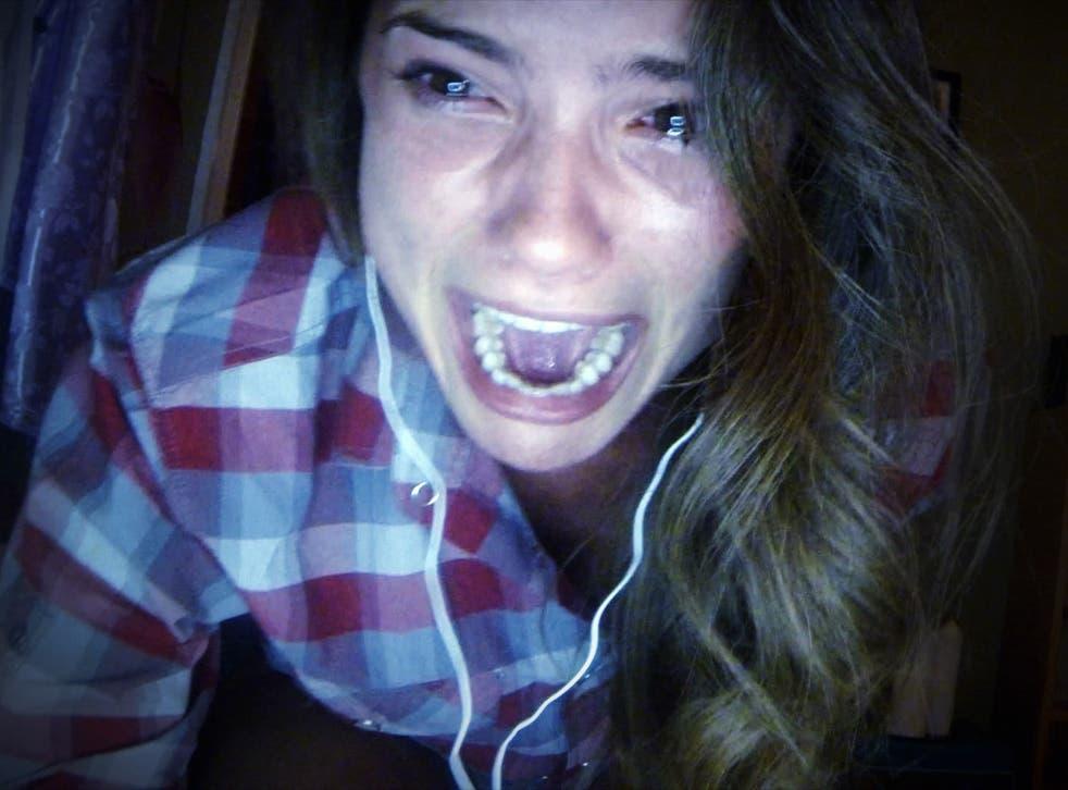 California screaming: Shelley Hennig stars in the cyber-bullying horror 'Unfriended'