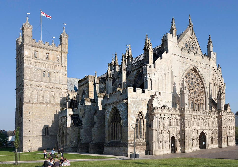 Najlepše katedrale sveta - Page 3 Exeter-Cathedral