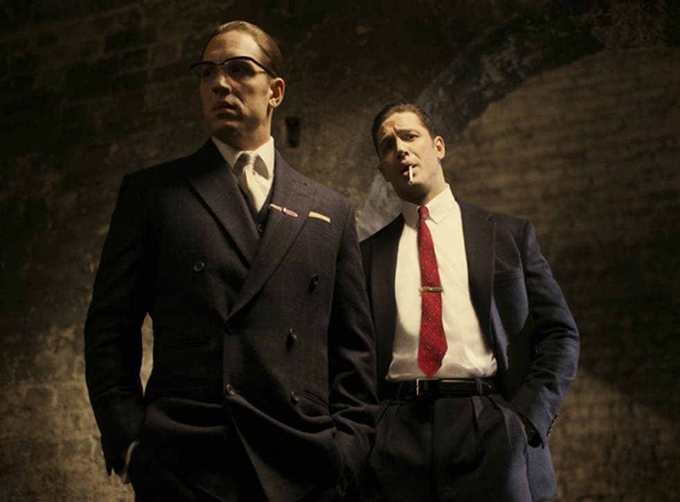 Tom Hardy plays Ronnie and Reggie Kray in upcoming film Legend