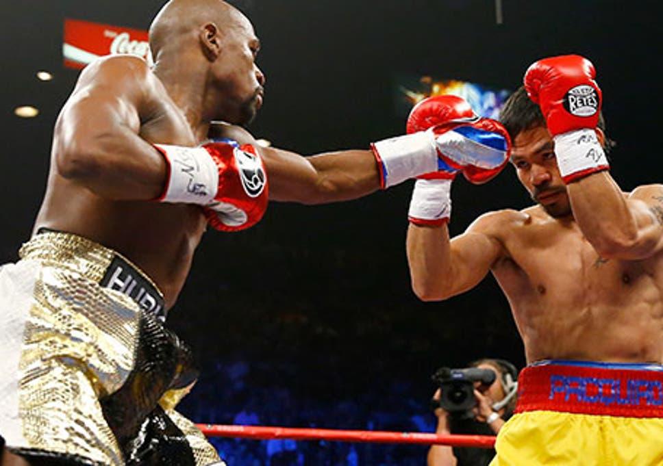 Floyd Mayweather vs Manny Pacquiao live: Mayweather puts on