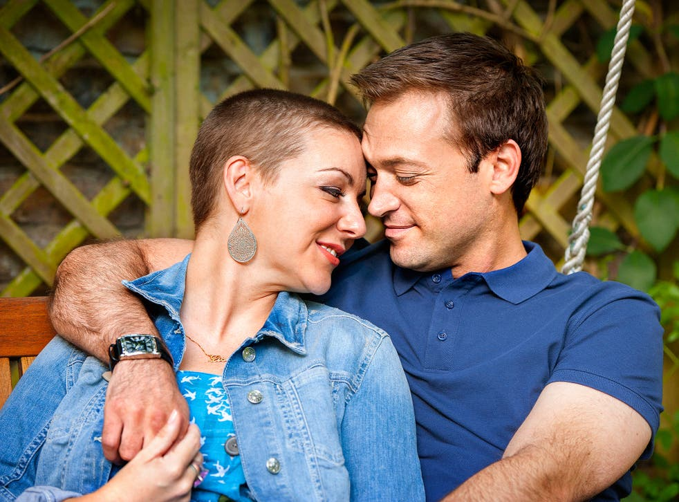 Sheridan Smith and Paul Nicholls in BBC1's 'The C-Word'