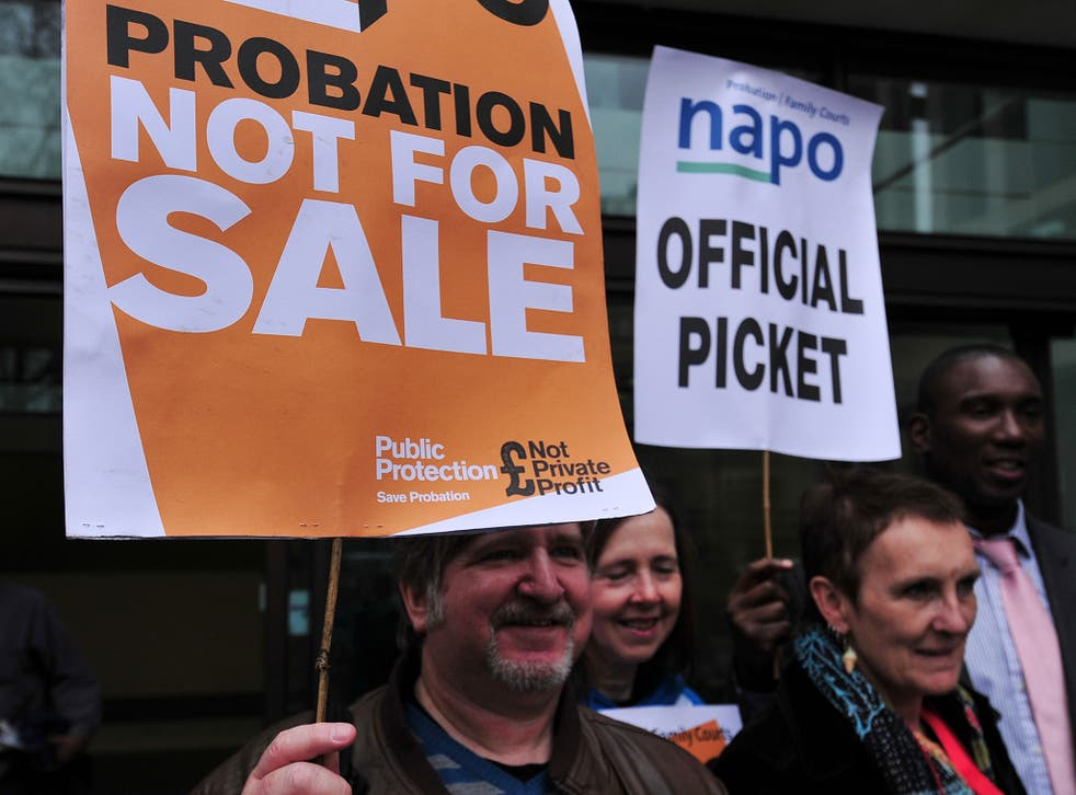 The probation officers' union, Napo reported that 375 probation vacancies in London were being covered by agency workers