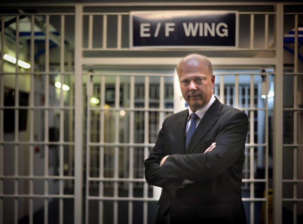 Justice Secretary Chris Grayling (PA)