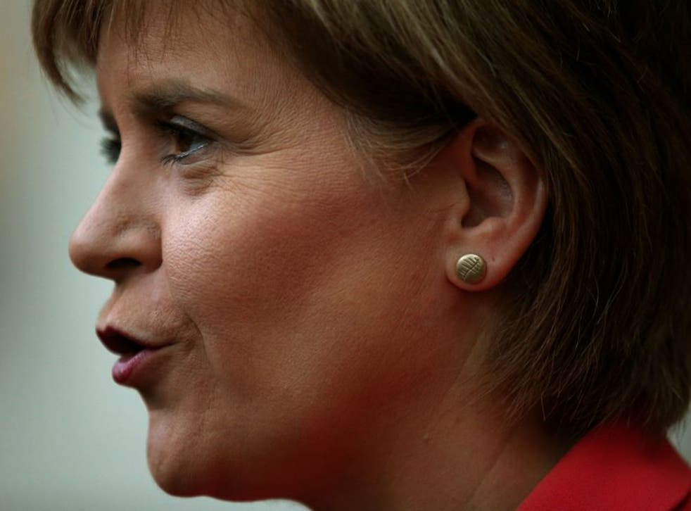 """Nicola Sturgeon has said that the SNP would vote down a future Labour Budget, although insists that such a process would not """"bring down the Government"""""""
