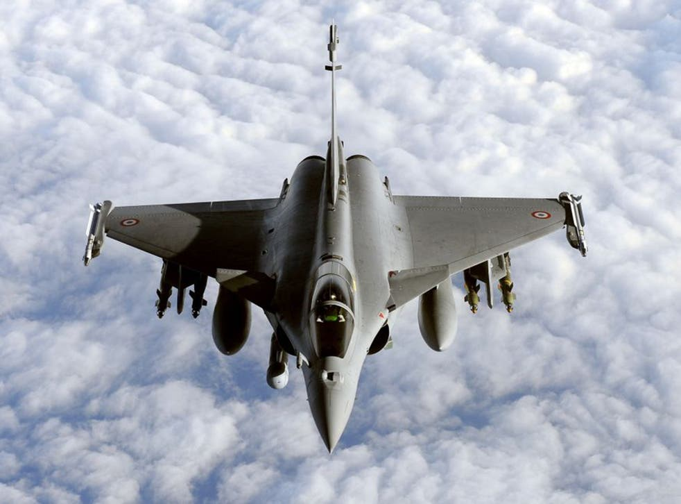 """The Rafale has been second best to its American rivals and to the part-British """"Eurofighter"""" or Typhoon"""