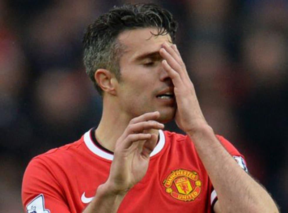 Robin van Persie will no longer take penalties for United (AFP)