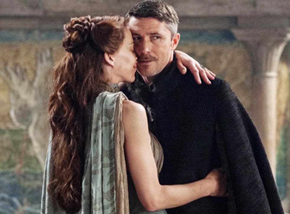 """""""The award for the creepiest Game of Thrones kiss ever goes to Sansa and Petyr 'definitely Irish now' Baelish"""""""