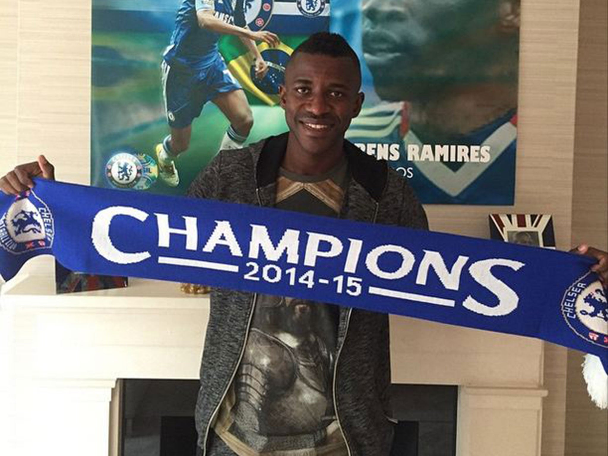 Ramires injury Chelsea midfielder thanks fans for messages of