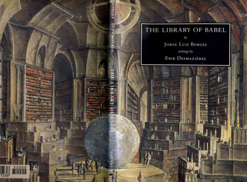 Jorge Luis Borges' 'The Library of Babel' imagined endless shelves holding every possible book