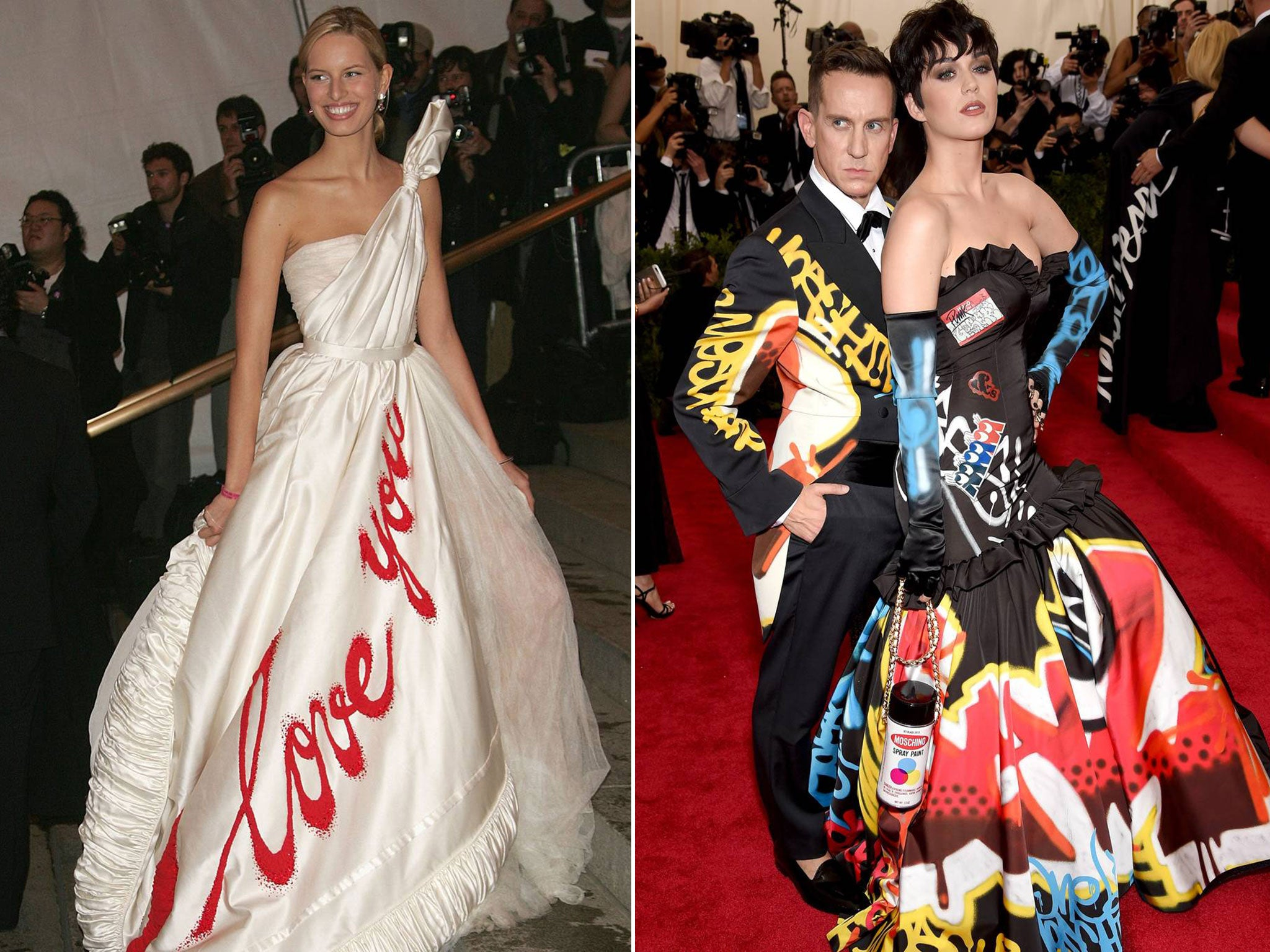 The Met Gala 2015 Compare And Contrast Fashion From The 70s Through