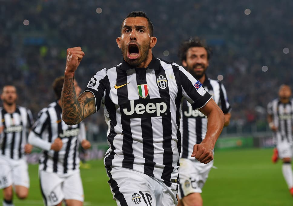 new styles eaa54 071dc Carlos Tevez seems to have found some peace at Juventus ...