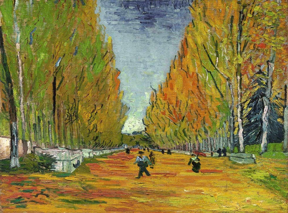 L'allée Des Alyscamps by Vincent van Gogh