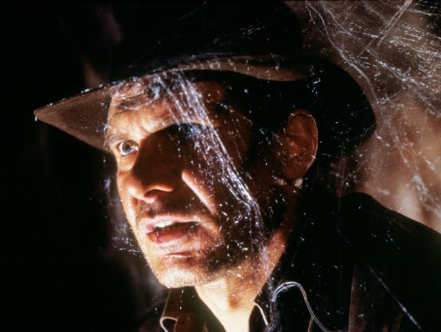 Harrison Ford plays Indiana Jones in The Last Crusade (1989)