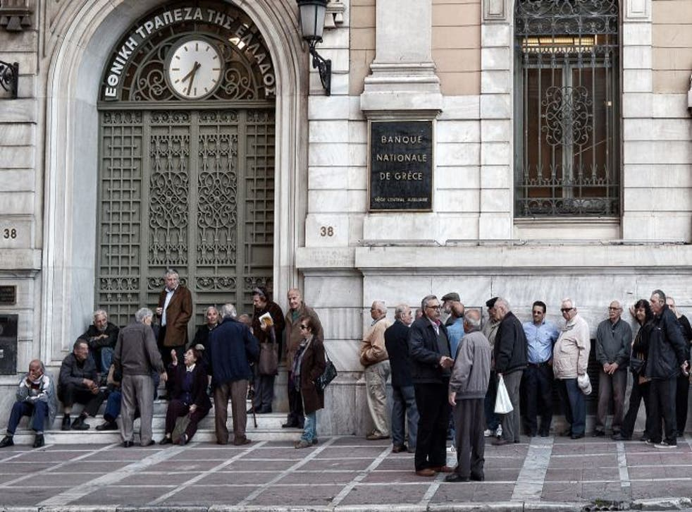 Pensioners were left queuing for hours over a hold up to pension payments