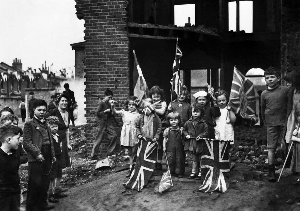 VE Day 70th anniversary: How ordinary Britons celebrated the end ...