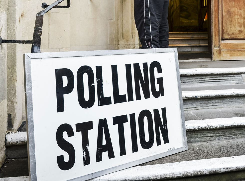 Polling stations will be open on the day of the election from 7am until 10pm (Hackney Town Hall NOT PICTURED)
