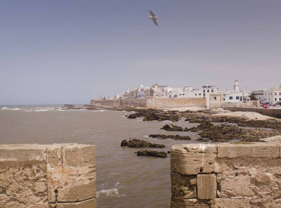 The seafront (Lawrence of Morocco)
