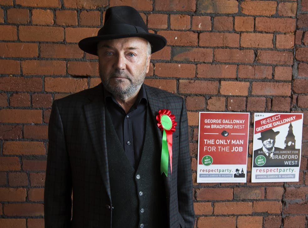 Respect Party Leader George Galloway made repeated personal attacks on his Labour opponent Naz Shah during this campaign