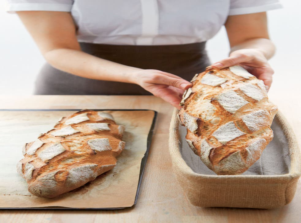 Kayser says: 'You can't make good bread in a bread machine; that bread has no taste'
