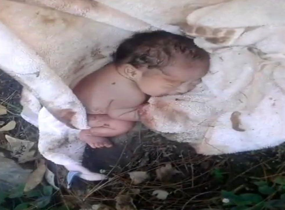 Raul Marin Ceja found a newborn baby abandoned in a bush on his way to work