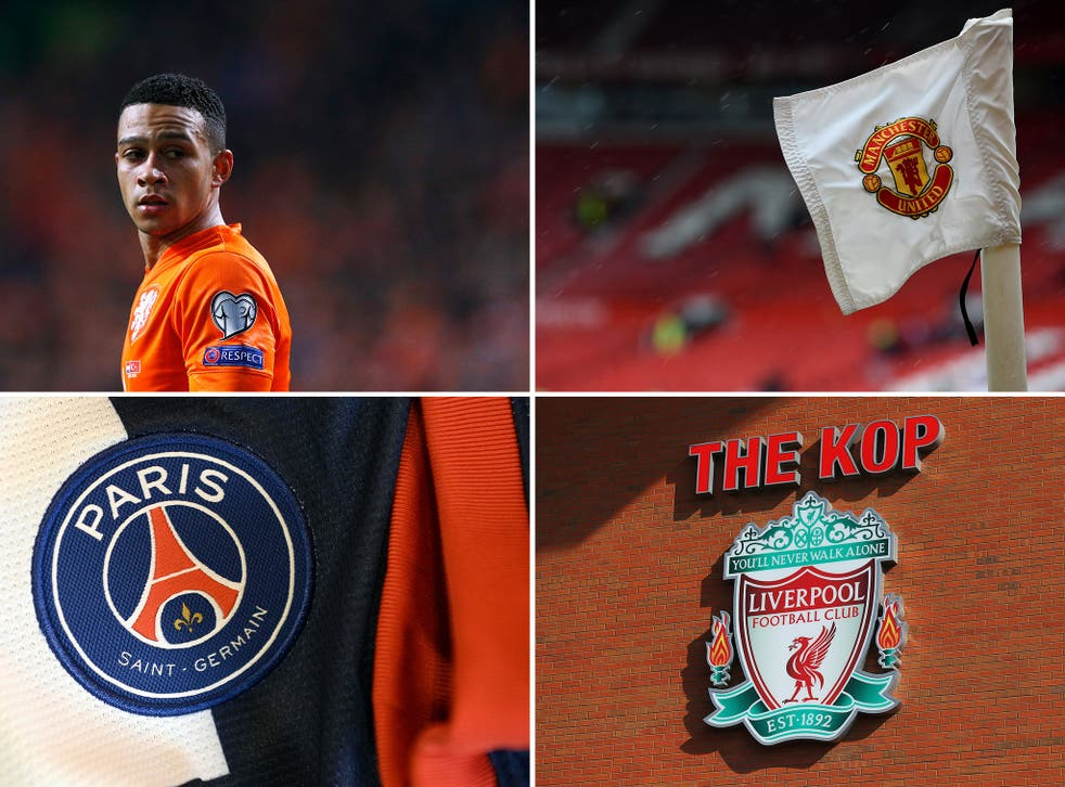 Memphis Depay has joined Manchester United