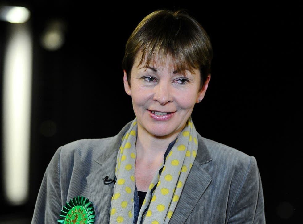 Caroline Lucas has spoken of a potential pact between the Greens and the Labour Party