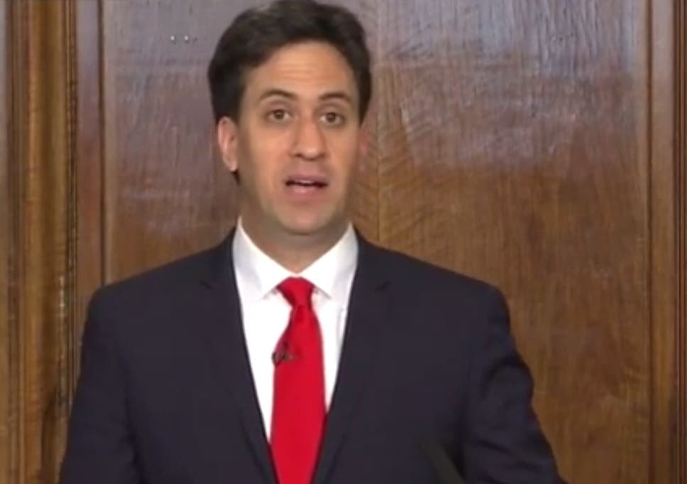 Image result for ed miliband resigns