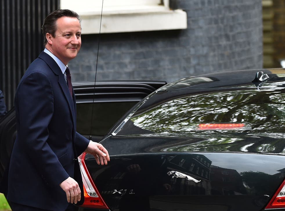 After Cameron's victory the top four Tory jobs in Government will all remain unchanged