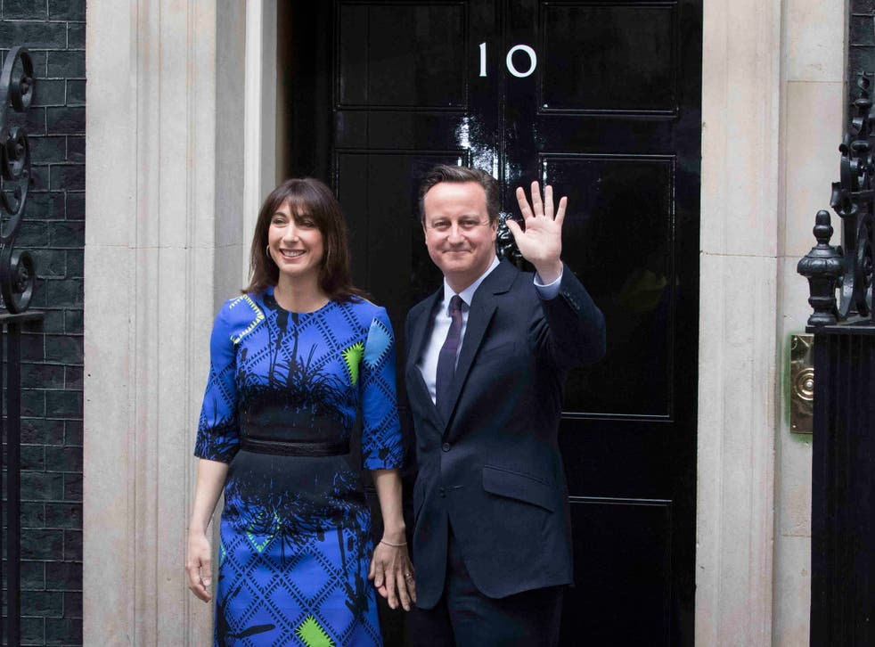Cameron's Tories defied pollsters' predictions of a hung parliament by winning an overall majority of 12