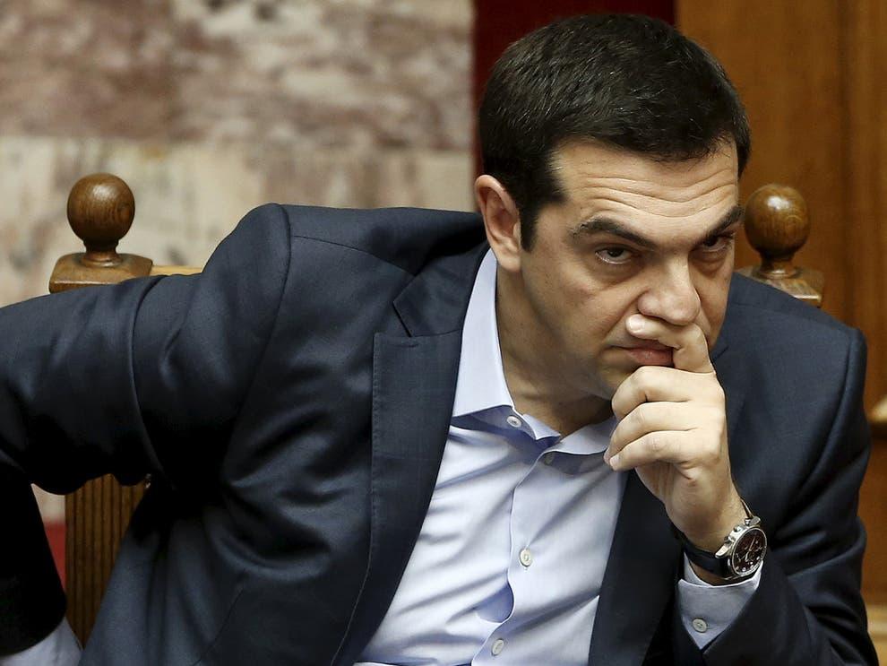 SYRIZA president Alexis Tsipras plays the political blame