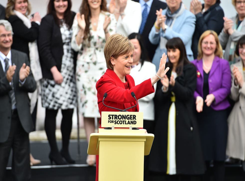 Sturgeon said: 'Scotland this week spoke more loudly and more clearly than ever before'