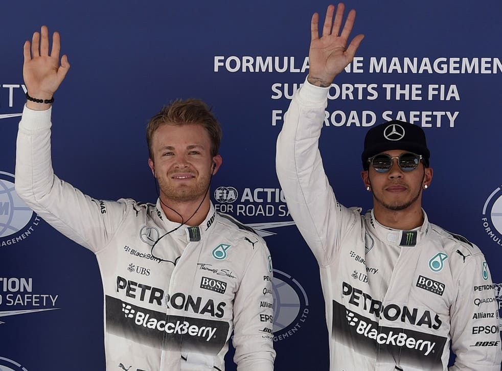 Nico Rosberg beat Lewis Hamilton by over two-tenths of a second