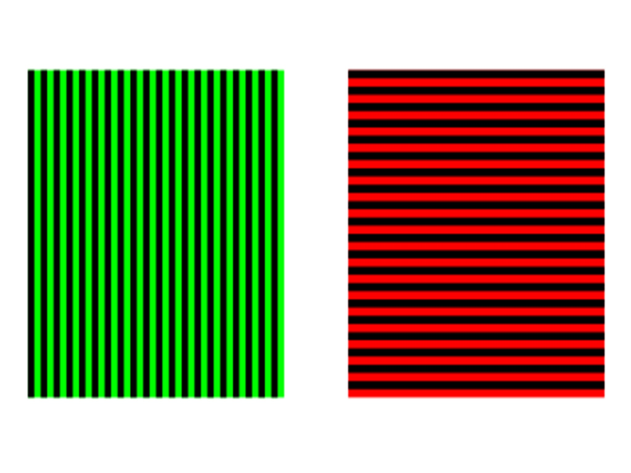 Then You Look At The Green Black And Red Stripes