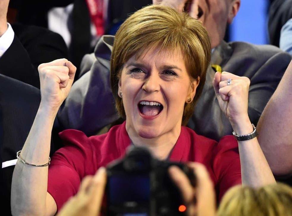 Sturgeon on election night