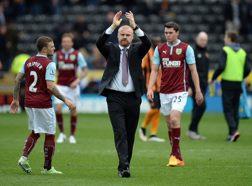 Sean Dyche is on the verge of a return to the Premier League