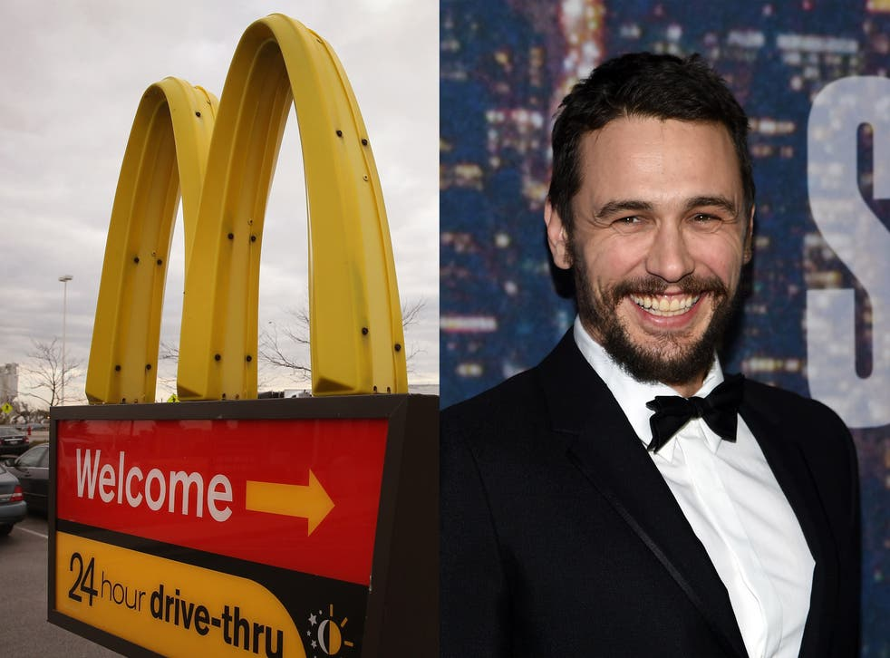 James Franco reveals fond memories of his time working at McDonald's