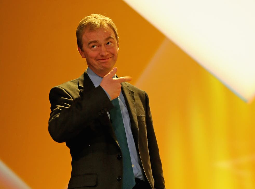 Party president Tim Farron has been tipped for the top job