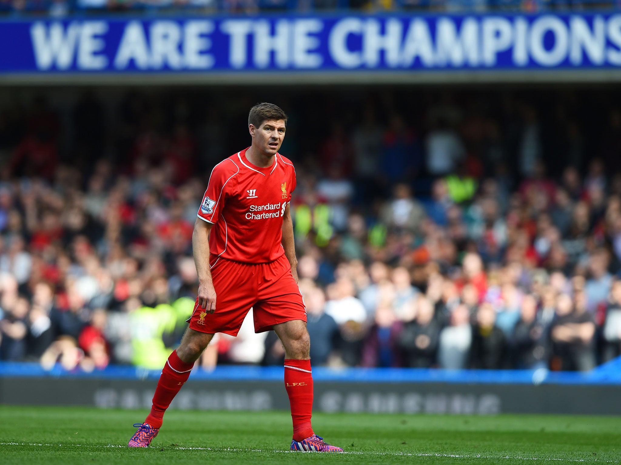 Steven Gerrard reveals Brendan Rodgers decision to use him as a