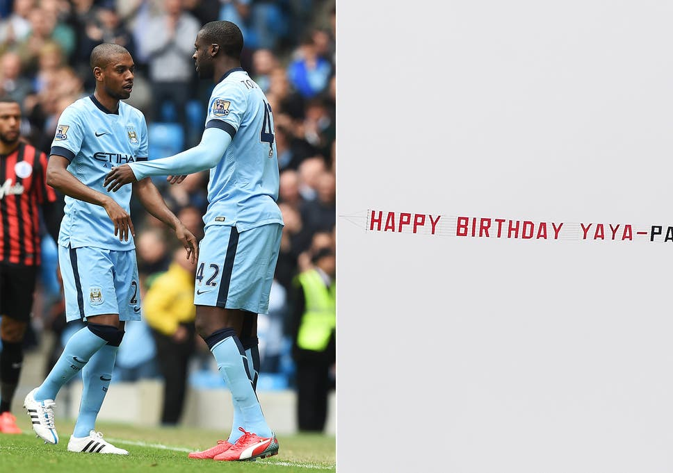 Yaya Toure Birthday Acknowledged By Manchester City On Twitter The