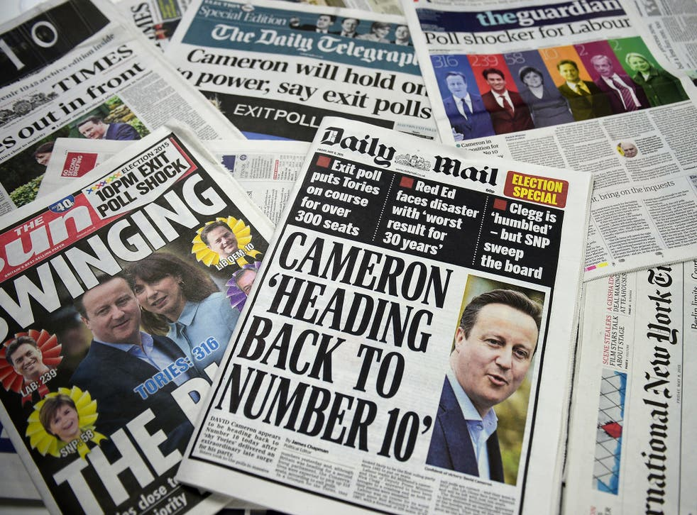 It was the first 'social media election' but newspapers continue to set the agenda