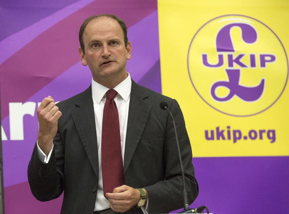 Douglas Carswell has ruled himself out of running for the Ukip party leadership