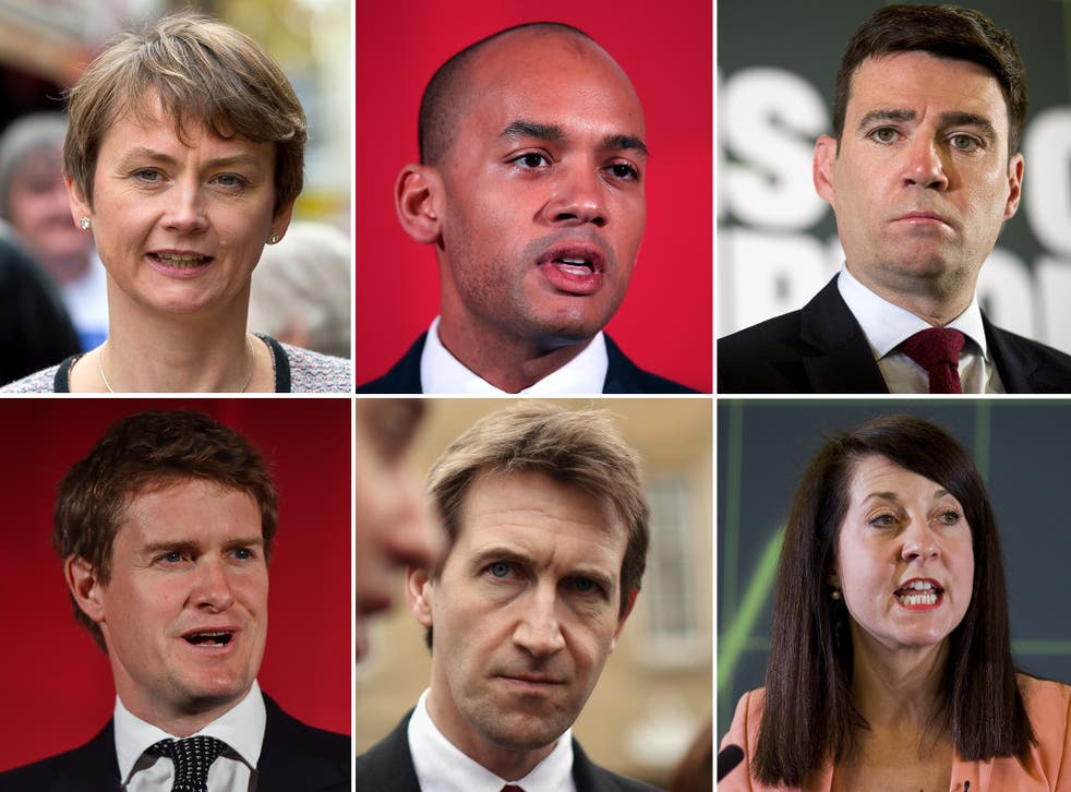 All the candidates for the Labour leadership are either established second-raters or unknown quantities