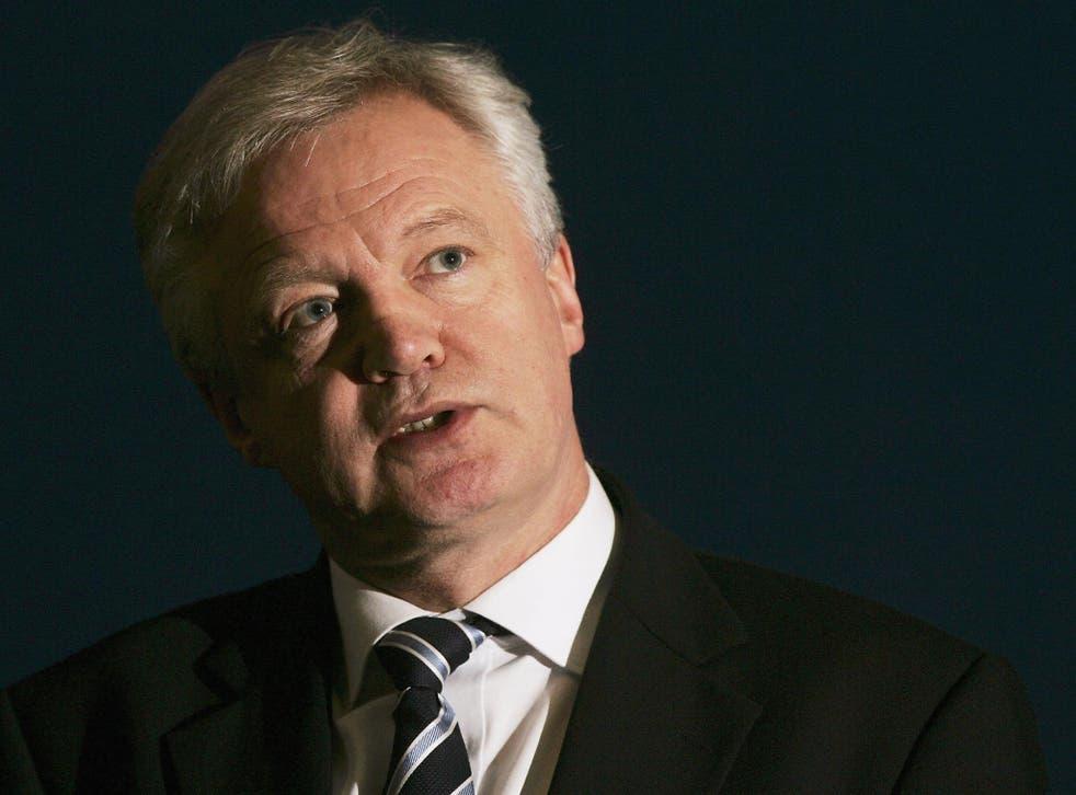 David Davis is one of the Tories' longstanding Eurosceptics