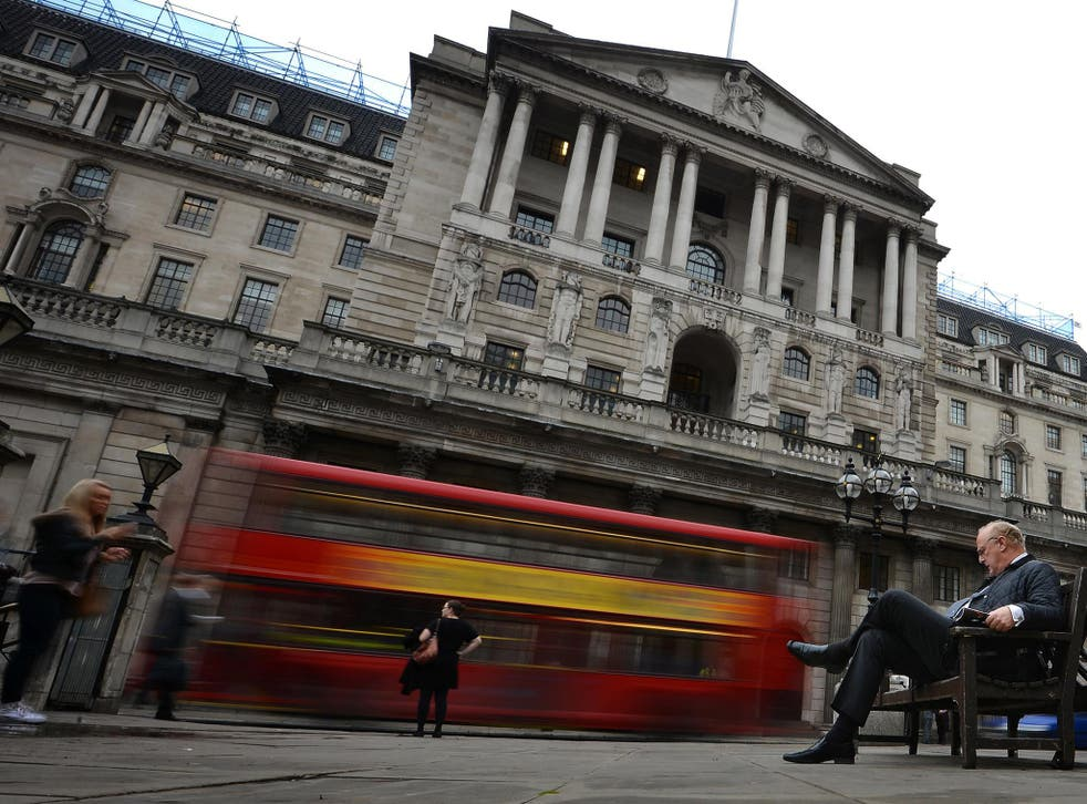 The Bank of England is set to report on its latest interest rate call