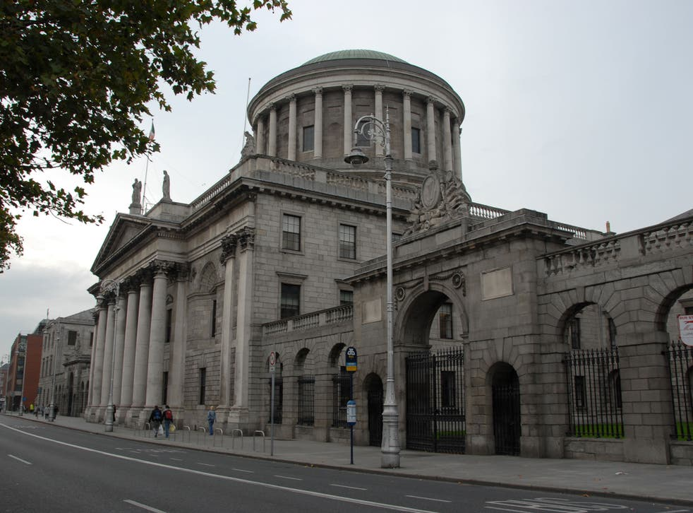 The Four Courts of the Irish Supreme Court, High, Circuit and District Courts, Dublin, Ireland