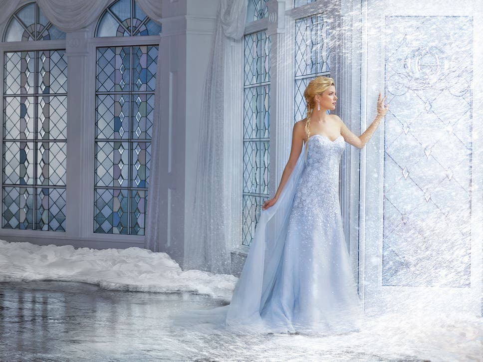 Disney-inspired wedding dresses: would you channel your favourite ...